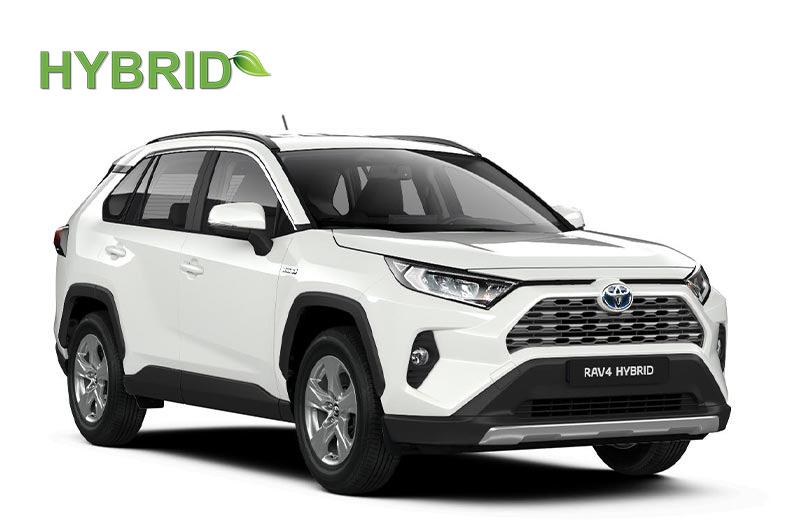 Noleggio a lungo termine nuova Toyota Rav 4 Hybrid