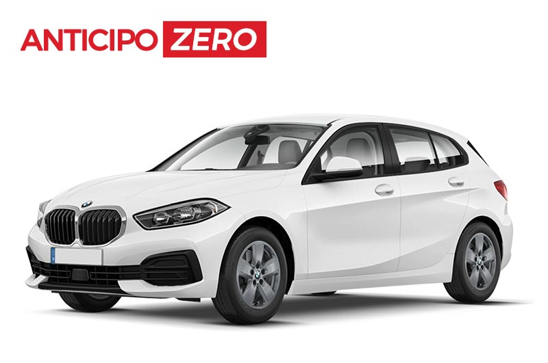 Noleggio a lungo termine senza anticipo BMW Serie 1 Business