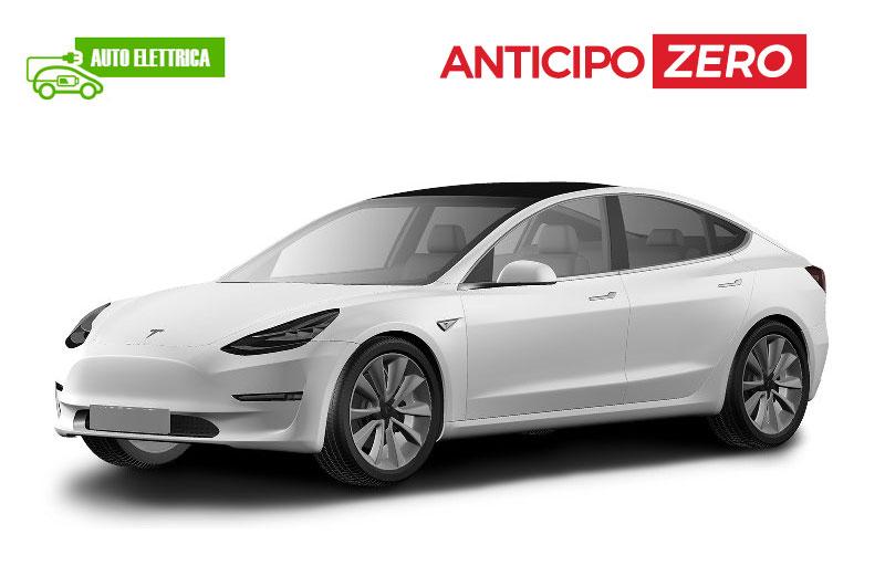 Noleggio a lungo termine senza anticipo Tesla Model 3