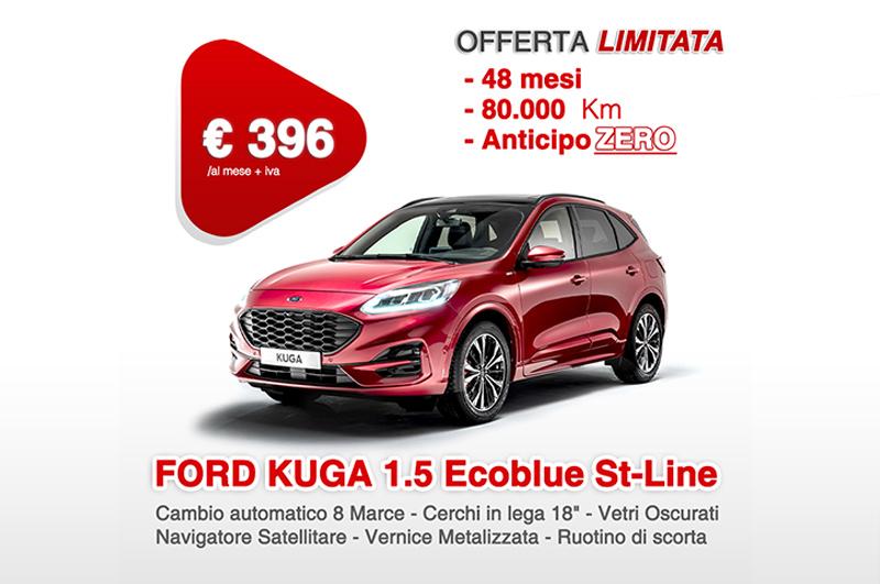 Promozione Ford Kuga 1.5 Ecoblue 120cv 2wd St-Line