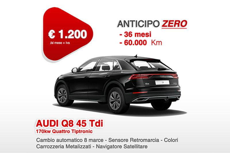 AUDI Q8 45 Tdi 170kw Quattro Tiptronic