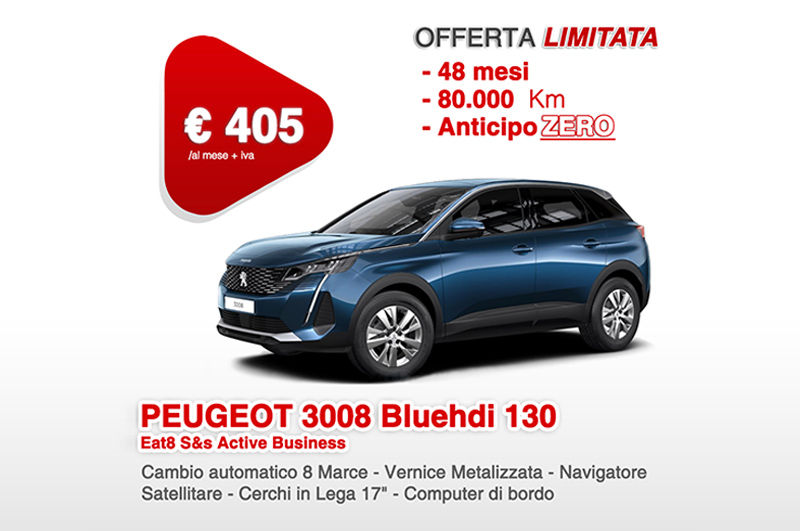 Peugeot Bluehdi 130 Eat8 S&s Active Business