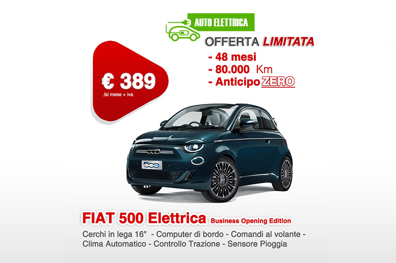FIAT 500 Elettrica Business Opening Edition