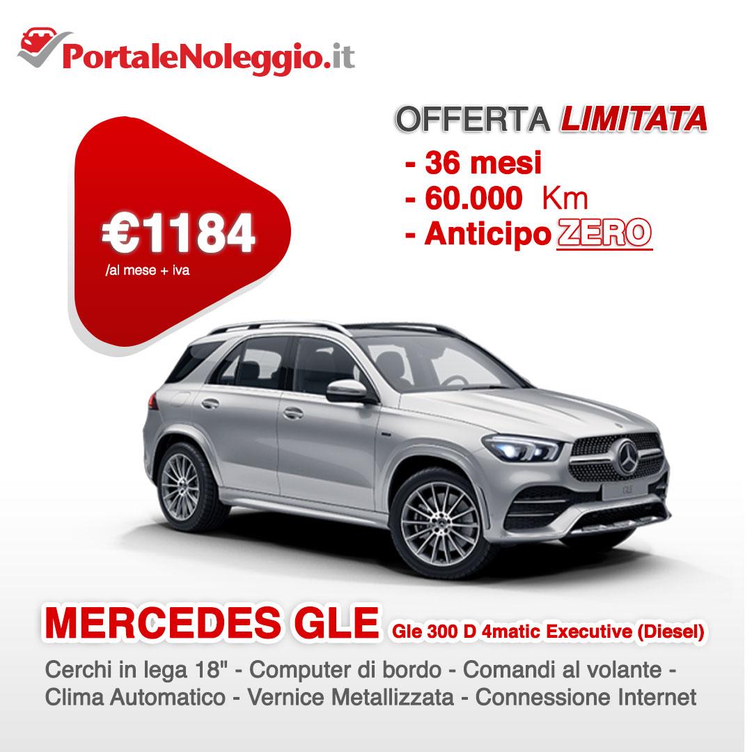 Noleggio lungo termine Mercedes GLE