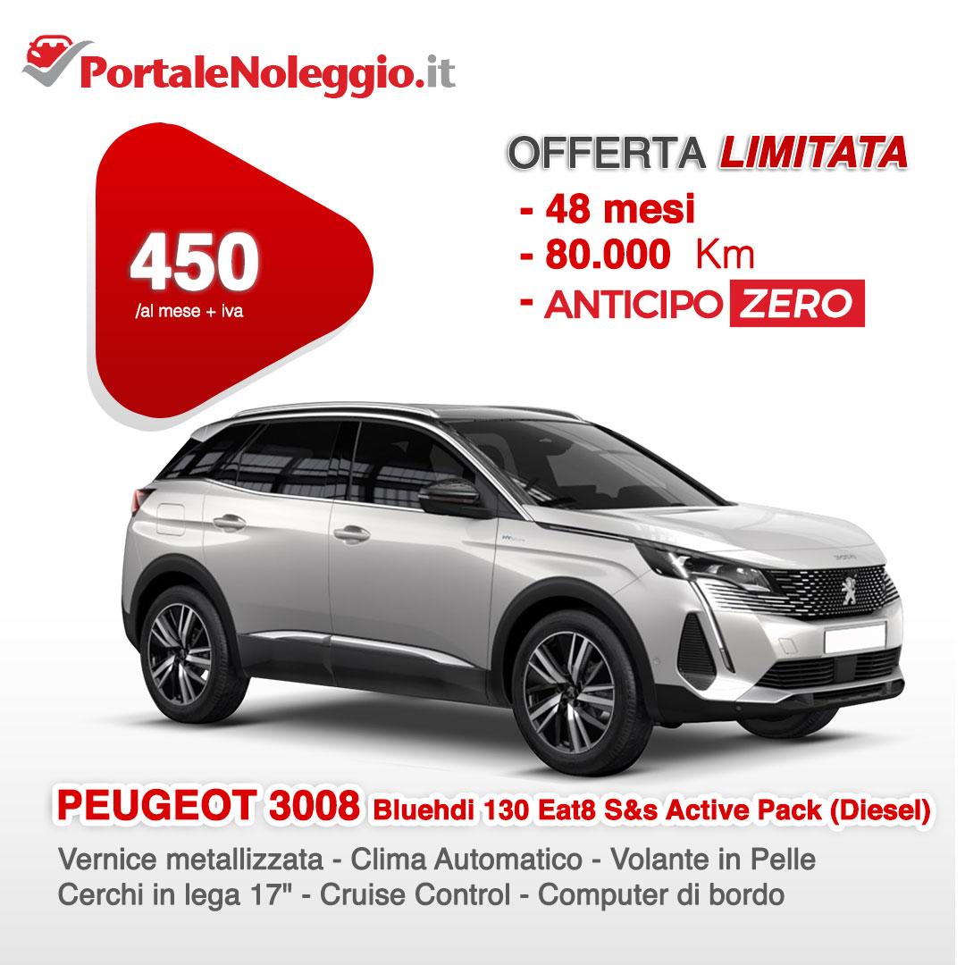 Peugeot 3008 Noleggio a lungo termine