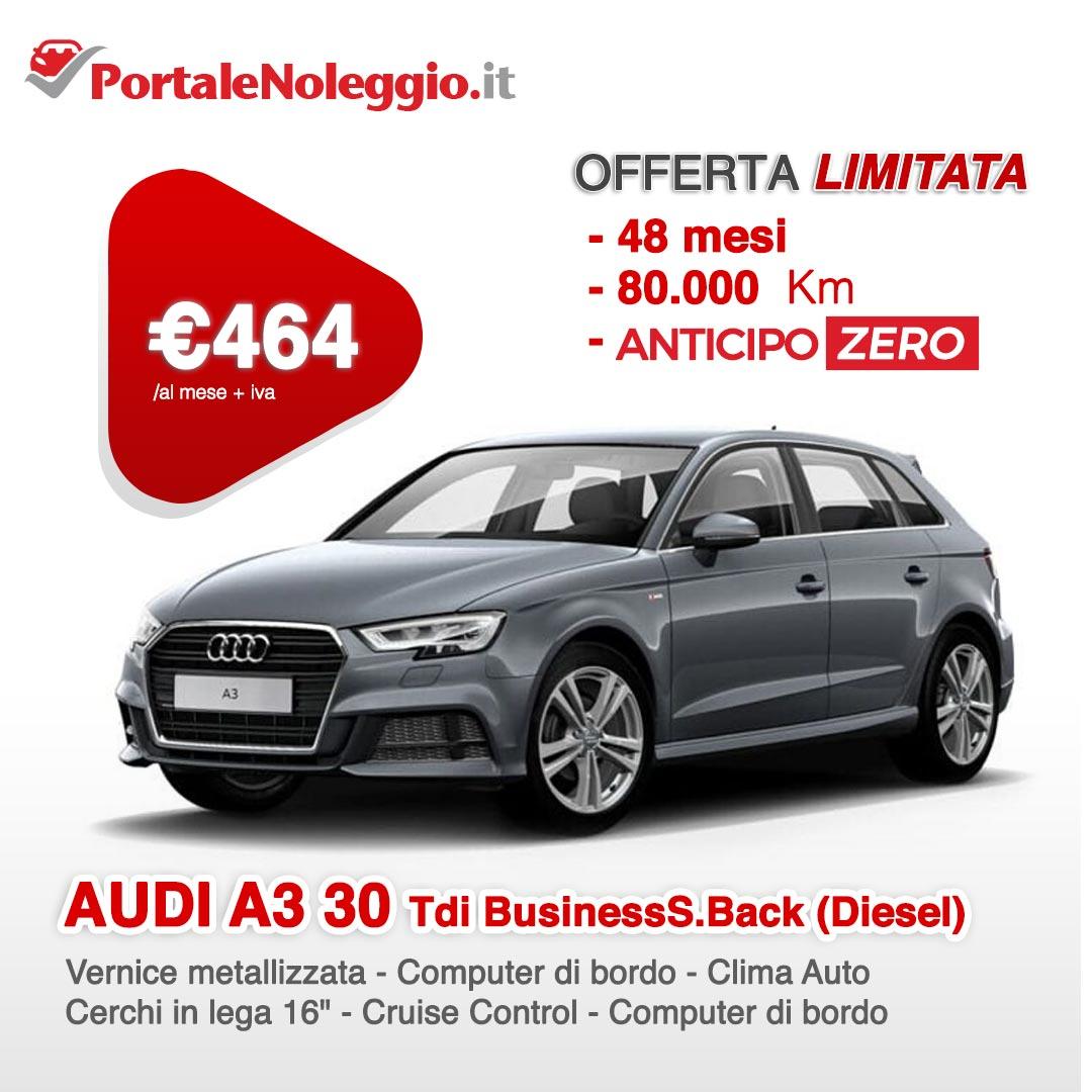 Noleggio lungo termine Audi A30